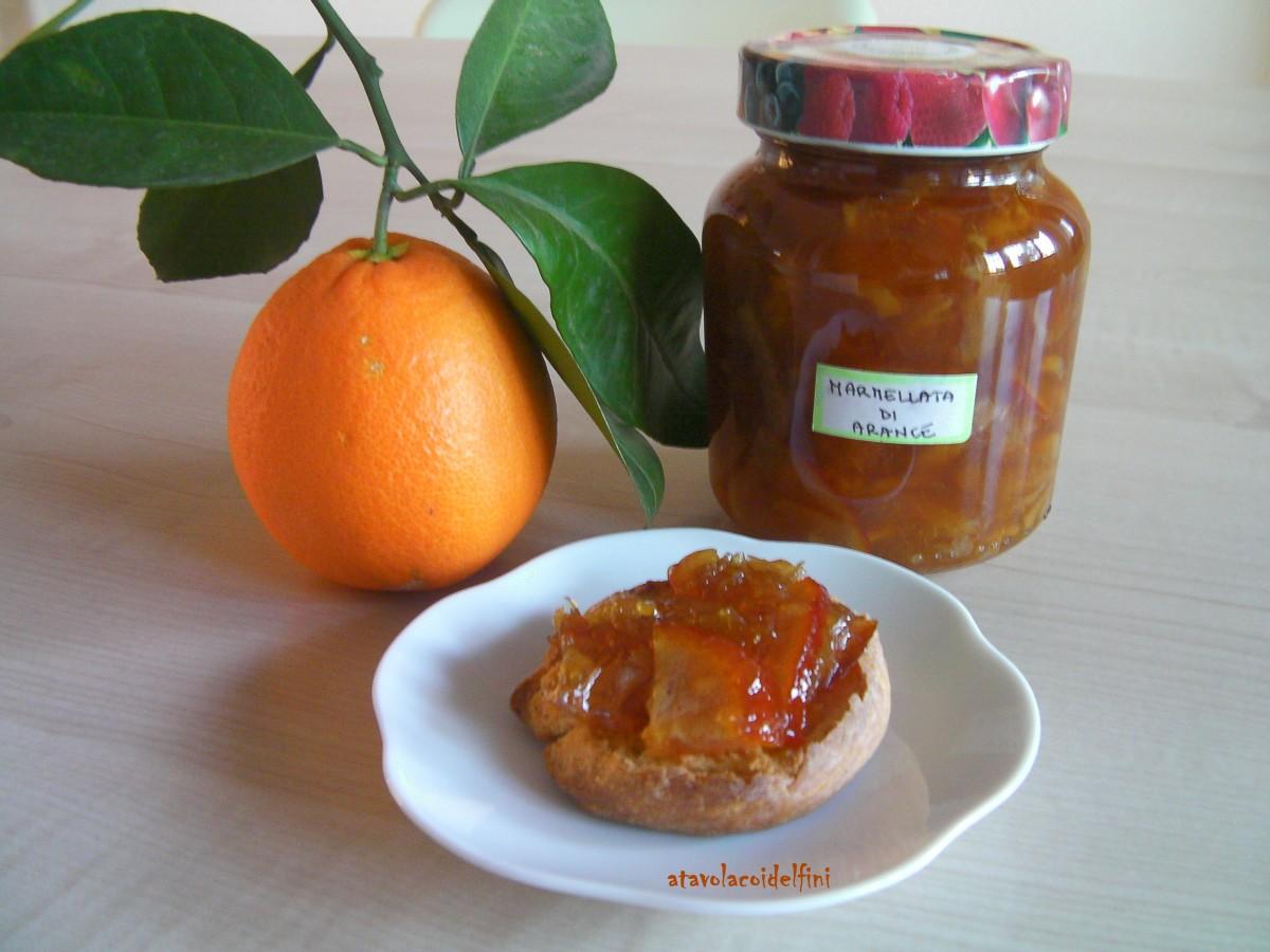 Marmellata di arance navelina