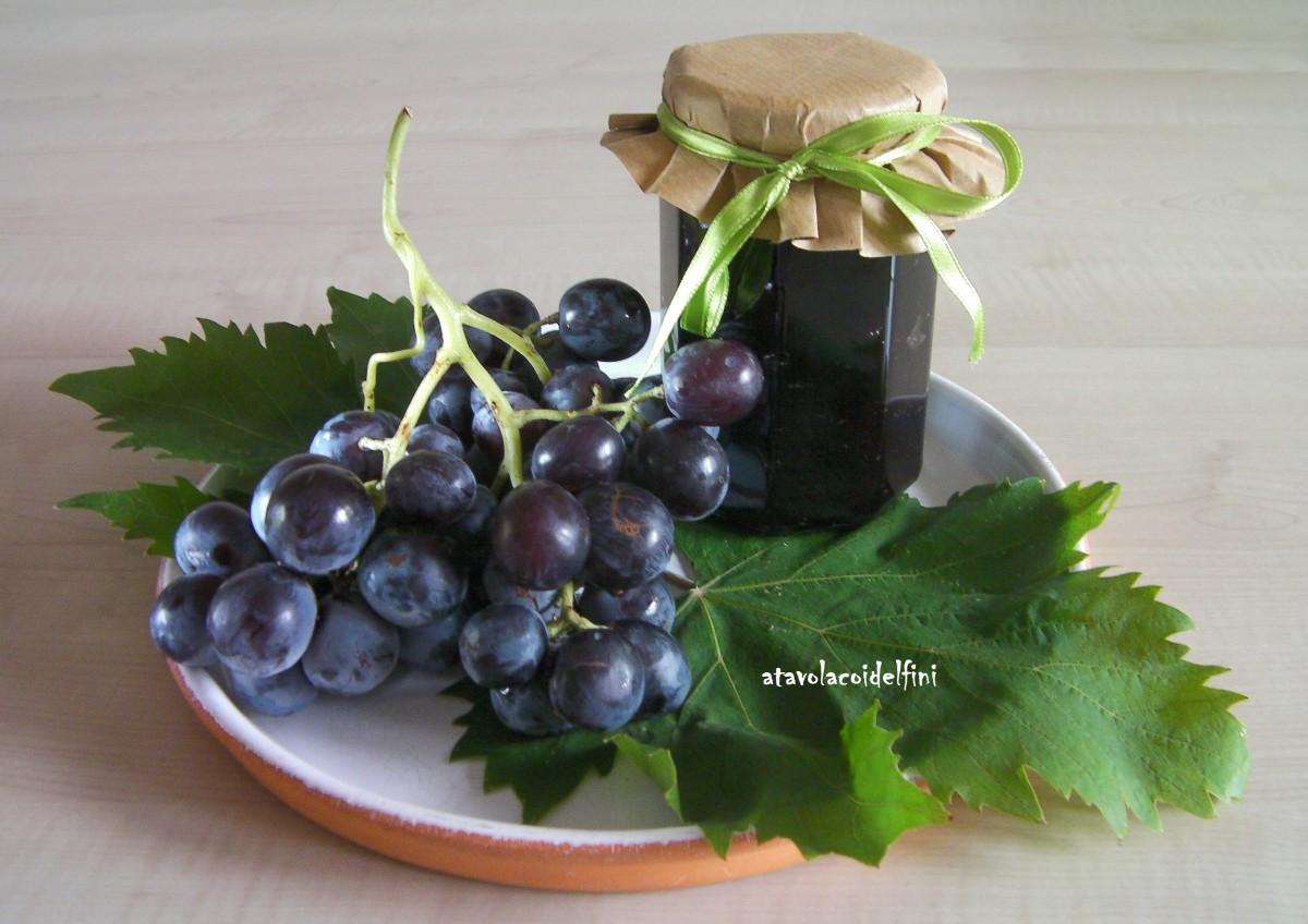 Confettura di uva moscato d'Amburgo