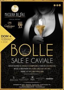Bolle, sale e caviale - Masseria del Sale Manduria