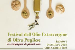 Festival dell'olio extravergine di Oliva Pugliese - Villa Castelli (Br)