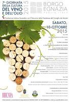 7° Giornata della Cultura e del Vino 2015 FIS - Puglia Borgo Egnazia - Fasano (Br)