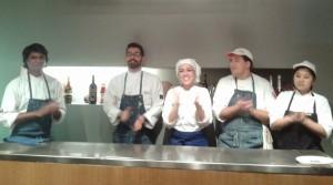 Chef Vinod Sookar - Chef Marco Marinelli - Chef Antonella Ricci