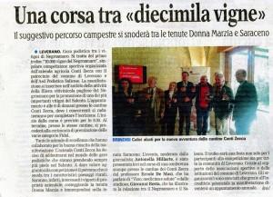 Leverano (Le) 21.11.2014 Gazzetta del Mezzogiorno