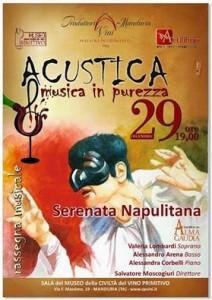 Acustica e musica in purezza - Manduria (Ta)