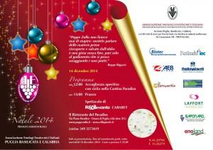 Assoenologi Pranzo di Natale 2014 - Orsara di Puglia (Fg)