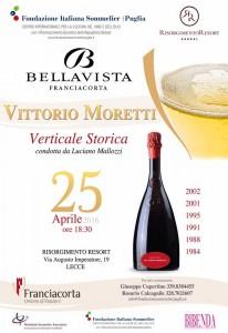 Vittorio Moretti - Bellavista Franciacorta FIS Lecce