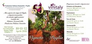 Vigneto Puglia - Vinitaly 2016