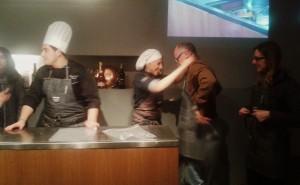 Chef Antonella Ricci e Francesco Pignatelli