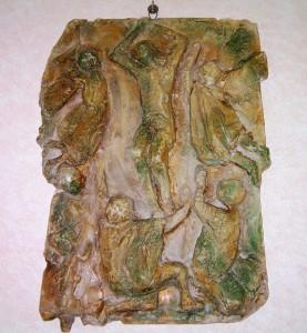 Bassorilievo in terracotta