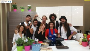 """Chef Express"" Studio100Tv  con i ""Terraross"""