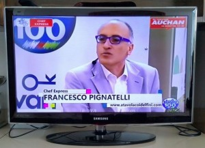 """Chef Express"" Studio100tv - maggio 2016"