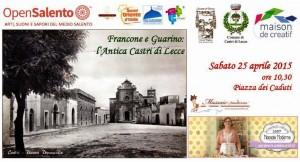 Francone e Guarino: L'antica Castrì di Lecce