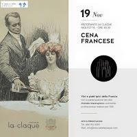 Cena Francese Ristorante La Claque - Molfetta (Ba)
