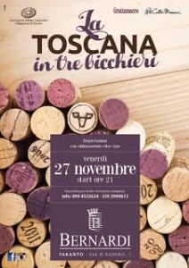 La Toscana in tre bicchieri - Taranto