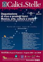 Calici di Stelle 2015 - Matera