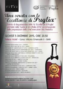 """""""Eccellenze di Puglia""""  Guida Vitae Ais Palace Hotel - Bari"""