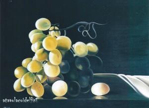 Uva - olio su tela (50x60)