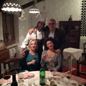 Chef Vinod Sookar - Francesco Pignatelli - Antonella Millarte - Tiziana Ingrassia