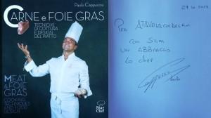 """""""Carne e foie gras"""" dello Chef Paolo Cappuccio"""
