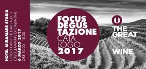 """Focus degustazioni 2017"" Castellammare di Stabia"