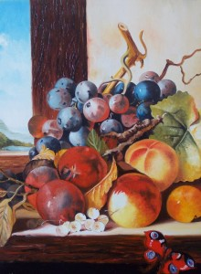 Natura Morta - olio su tela (40x50)