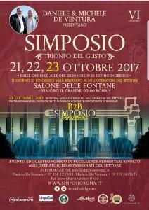 """Simposio """"Trionfo del Gusto"""" - Roma"""