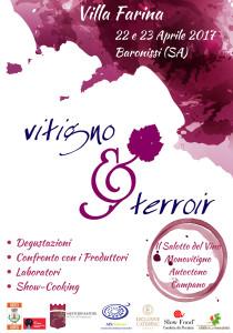 """""""Vitigno&terroir"""" Villa Farina - Baronissi (Sa)"""