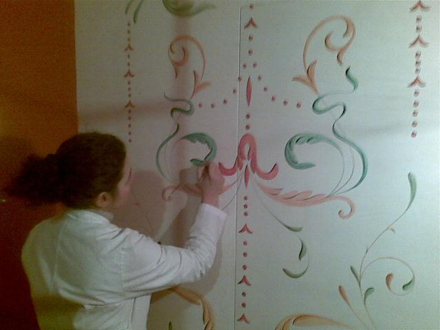 Dipingere i muri