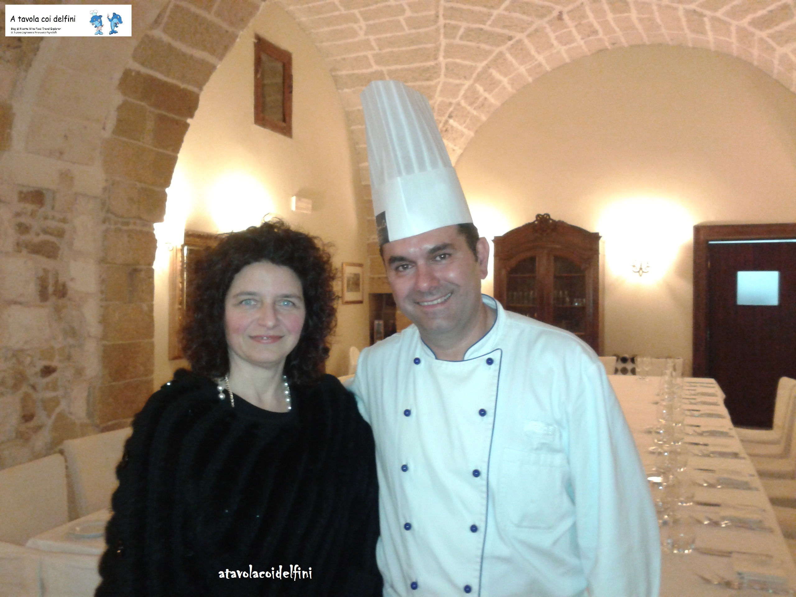 """Chef Andrea Serravezza - """"Tenuta Monacelli"""" Cerrate (Le)"""