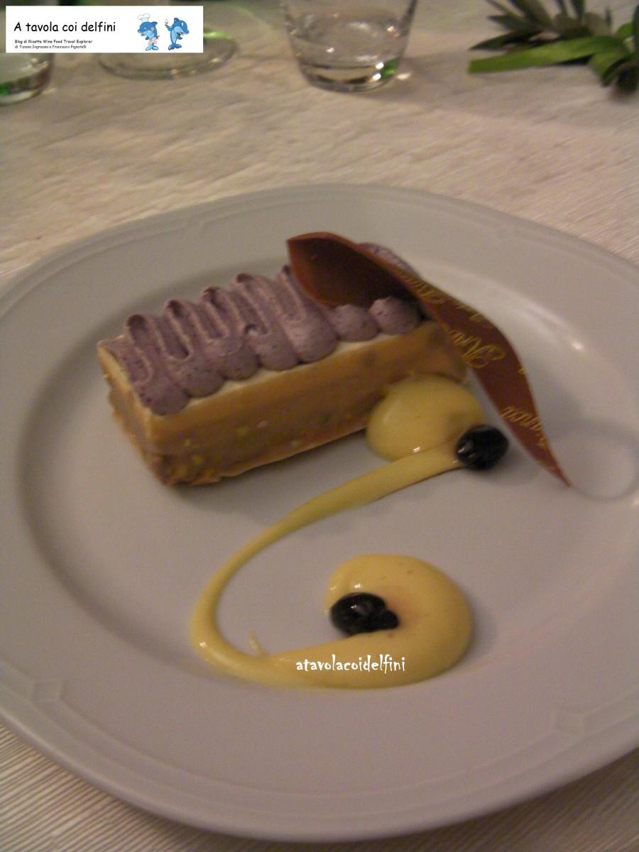 Dessert all'Olivotto del Pastry Chef Antonio Campeggio