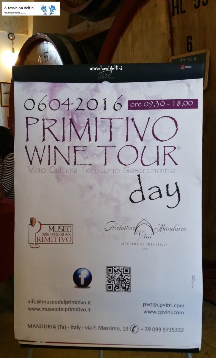 Primitivo wine tour
