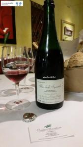 """Rio degli Sgoccioli"" Vino rosso spumante metodo classico dosage zero - Az. Agr. Bio Cinque Campi"