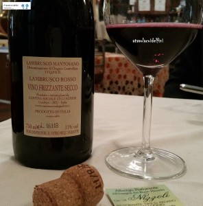 Lambrusco Rosso Mantovano  Doc - Cantina Sociale di Gualtieri (Re)