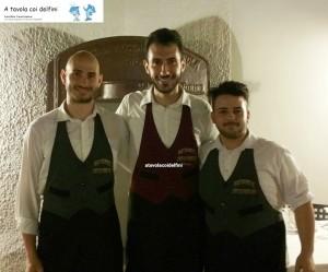 Marco Marinelli, Cosimo Pagano e Alessandro Tripaldi