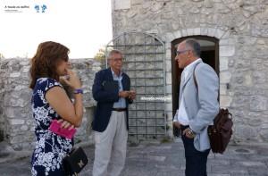 Luciana Doronzo, Michele Peragine e Francesco Pignatelli