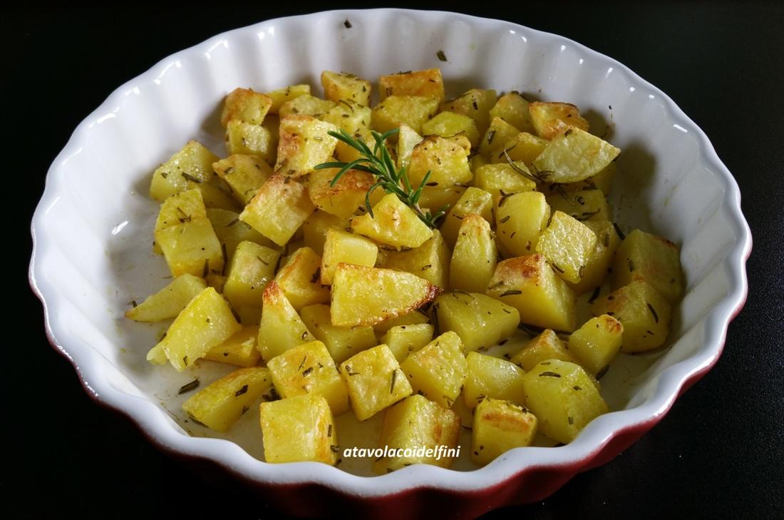 Patate di Galatone al rosmarino di scoglio al forno