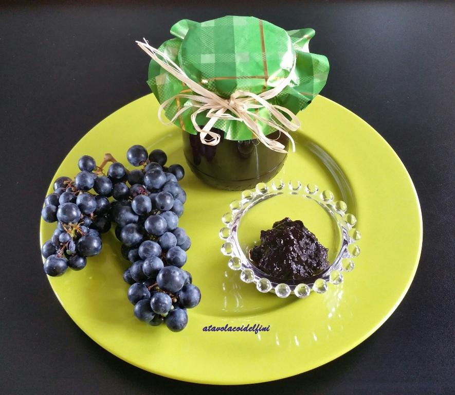 Confettura di uva primitivo di Manduria dolce naturale docg