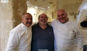 Peppe Zullo, Federico Valicenti e Pietro Zito