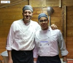 Chef Vito e Michele Macchia
