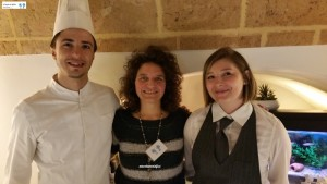 Chef Alessandro Guarino ed Emily Abreu