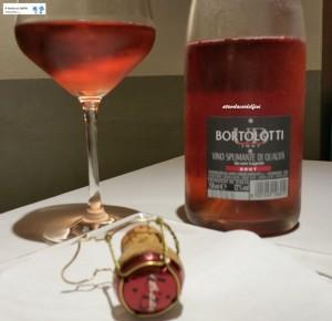Spumante Brut Rosè Lagrein - Bortolotti
