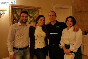 Giovanni Rampino, Lucia Buttazzo, Sig. Claudio e Cuoca Patrizia Taccone