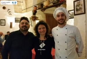 Sigfrido Sanapo (Owner) e Anselmo Ferramosca (Chef)