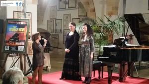 Anna Gennari, Maria e Francesca Musti
