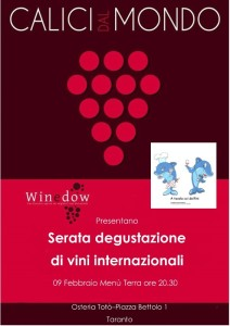 """""""Calici dal Mondo"""" Winedow e Atavolacoidelfini - Osteria Totò (Taranto)"""