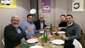 Domenico Scola, Francesco Pignatelli, Vito Pagnotta