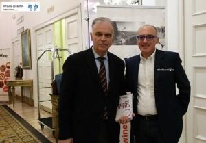 Massimo Corrado (Presidente Go Wine) e Francesco Pignatelli