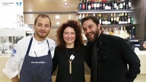 Francesco Palombo (Chef e Owner) e Federico Massini (Sommelier)
