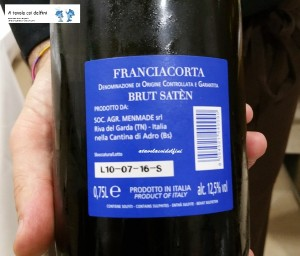 """Unica"" Franciacorta Brut Saten Docg"