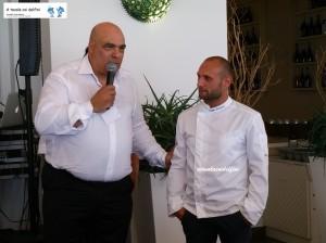 Vittorio Cavaliere e Peppe Stanzione